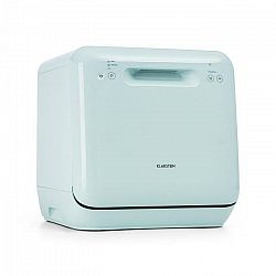 Klarstein Aquatica, umývačka riadu, voľne stojaca, 2 riady, 860W, EEC A, zelená