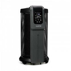 Klarstein Datscha Digital, elektrický ohrievač, 360°, termostat, diaľkový ovládač, časovač, 2200 W, čierny