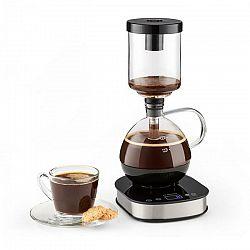 Klarstein Drop Syphon, vákuový kávovar, 360° základňa, LCD displej, 500 W, funkcia udržania tepla, sklo