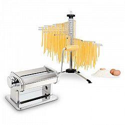 Klarstein Pasta Set, zariadenie na prípravu cestovín, ušľachtilá oceľ & susič cestovín Verona
