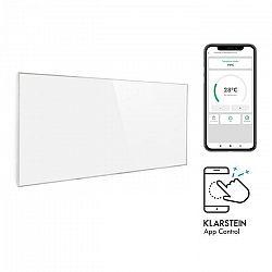 Klarstein Wonderwall 720 Smart, infračervený ohrievač, 60 x 120 cm, 720 W, týždenný časovač, IP24, biely